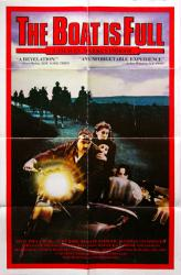 The Boat Is Full movie poster [Markus Imhoof film] 27x41 original 1981