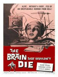 The Brain That Wouldn't Die movie poster (1962) [Virginia Leith] 18x24