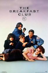 The Breakfast Club movie poster [Molly Ringwald, Emilio Estevez] 22x34