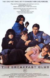 The Breakfast Club movie poster [Molly Ringwald, Emilio Estevez] 24x36