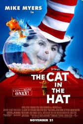 The Cat In the Hat movie poster [Mike Myers] original 27x40