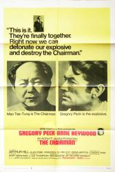 The Chairman movie poster [Gregory Peck] 1969 original 27x41