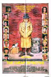 The Cheap Detective movie poster [Peter Falk] 1978 original 27x41