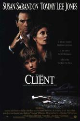The Client movie poster [Susan Sarandon, Tommy Lee Jones, Brad Renfro]