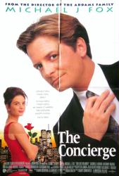 The Concierge movie poster [Michael J. Fox] For Love Or Money 27x40
