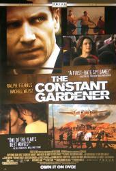 The Constant Gardener movie poster [Ralph Fiennes, Rachel Weisz] 27x40