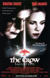 The Crow: Salvation movie poster [Kirsten Dunst & Eric Mabius] NM