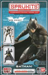 The Dark Knight Rises: Batman Sprukits Poseable Figural Model Kit