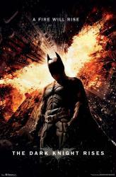 The Dark Knight Rises movie poster (24x36) a Christopher Nolan film
