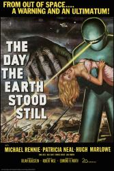 The Day the Earth Stood Still movie poster (1951) 24x36