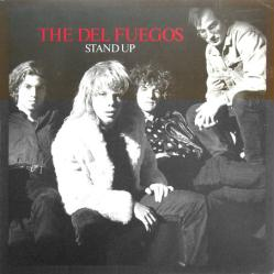 The Del Fuegos poster: Stand Up vintage LP/Album flat