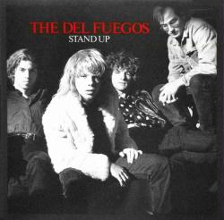 The Del Fuegos poster: Stand Up vintage LP/Album flat (1987)