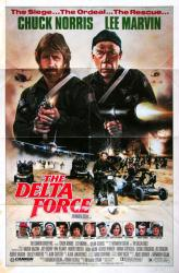 The Delta Force movie poster [Chuck Norris, Lee Marvin] 27x41 original