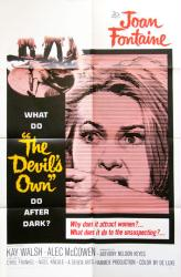 The Devil's Own movie poster (1967) [Joan Fontaine] original 27x41