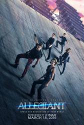 Allegiant movie poster (original 27x40 advance) The Divergent Series