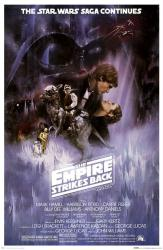 The Empire Strikes Back movie poster [Mark Hamill/Harrison Ford] 24x36