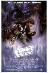 The Empire Strikes Back movie poster (27x40 one-sheet) reproduction
