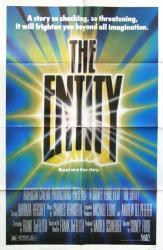 The Entity movie poster (1982 horror film) original 27x41