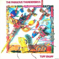 The Fabulous Thunderbirds poster: Tuff Enuff vintage LP/Album flat