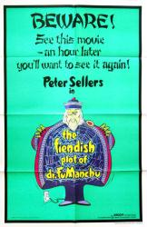 The Fiendish Plot of Dr. Fu Manchu movie poster [Peter Sellers] 27x41