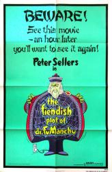 The Fiendish Plot of Dr. Fu Manchu poster [Sellers] 27x41 original