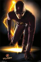 The Flash poster: CW TV series [Grant Gustin] 24x36