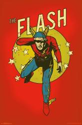 The Flash poster: Vintage-look (22x34) DC Comics