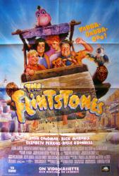 The Flintstones movie poster [John Goodman, Rick Moranis] 27x40