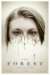 The Forest movie poster [Natalie Dormer] 27x40 original advance