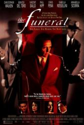 The Funeral movie poster [Christopher Walken, Benicio Del Toro] 27x40