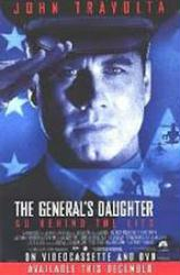 The General's Daughter movie poster [John Travolta] 27x40 GD