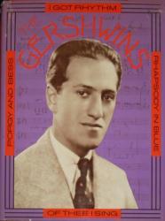George and Ira Gershwin biography: The Gershwins hardback book (1973)