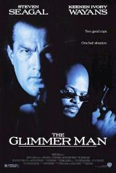 The Glimmer Man movie poster [Steven Seagal & Keenan Ivory Wayans]