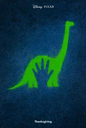 The Good Dinosaur movie poster [Disney/Pixar] original 27x40 advance