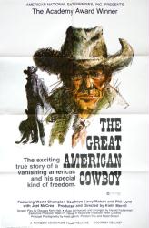 The Great American Cowboy movie poster [1974 rodeo documentary] 27x41