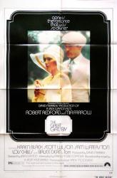 The Great Gatsby movie poster (1974) [Redford, Farrow] original 27x41