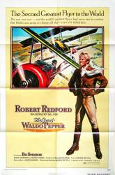 The Great Waldo Pepper movie poster [Robert Redford] original 27x41