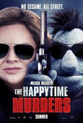 The Happytime Murders movie poster [Melissa McCarthy] original 27x40