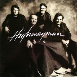 The Highwaymen poster: Highwayman 2 vintage LP/Album flat