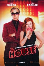 The House movie poster [Will Ferrell, Amy Poehler] 27x40 original