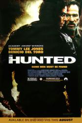 The Hunted movie poster [Tommy Lee Jones, Benicio Del Toro] video