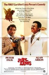 The In-Laws movie poster [Peter Falk, Alan Arkin] 27x41 original 1979