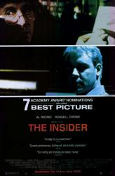The Insider movie poster [Al Pacino & Russell Crowe] video version
