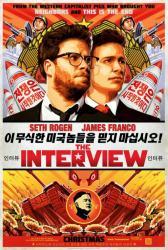 The Interview movie poster [Seth Rogen, James Franco] original 27x40