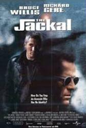 The Jackal movie poster [Bruce Willis & Richard Gere] video poster