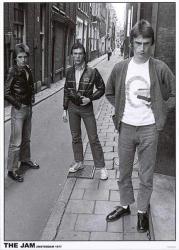 "The Jam poster: Amsterdam 1977 (23 1/2"" X 33"" U.K. import)"