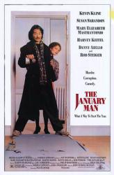 The January Man movie poster [Kevin Kline, Mastrantonio] 27x41