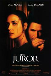 The Juror movie poster [Demi Moore, Alec Baldwin] 27x40