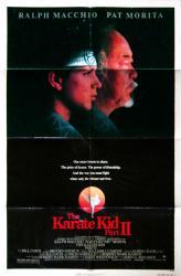 The Karate Kid Part II movie poster [Pat Morita, Ralph Macchio] 27x41
