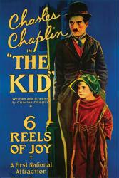 The Kid movie poster (1921) [Charlie Chaplin, Jackie Coogan] 24x36